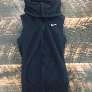 Women's Nike Black Cowl Neck Vest